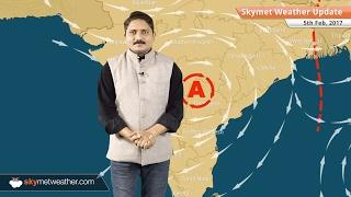 Weather Forecast for Feb 5: Rain in Delhi, Punjab, Rajasthan, UP, Snow in Kashmir, Himachal