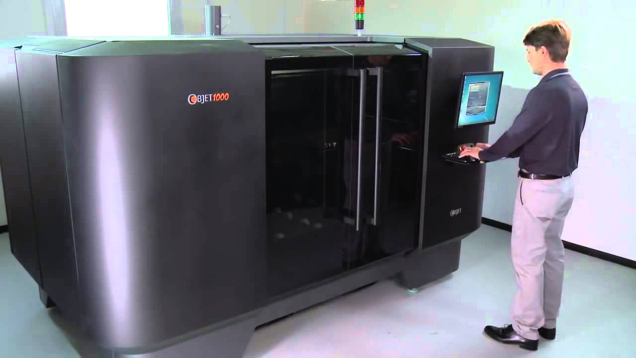Objet1000 largest ever 3d printer for big models - Where can i buy a 3d printed house ...