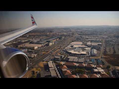 ✈ B737-800 Split Scimitar British Airways (Comair) Landing in Johannesburg