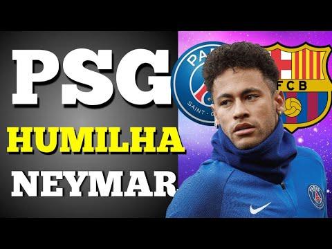 PSG está HUMILHANDO Neymar, que cobra ação do BARCELONA