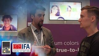 Мониторы Philips на IFA 2016 - Интервью с представителем компании - Keddr.com