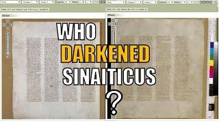03 Who Darkened Sinaiticus?