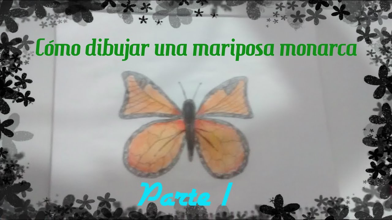 Magnífico Colorear Simple Mariposa Monarca Para Colorear Viñeta ...