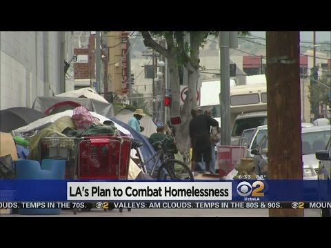 LA City Council To Declare Local Emergency On Homelessness