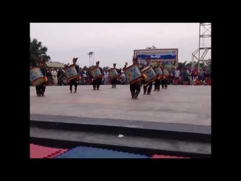 Grup tambur Gema Satria Minang Bandar Lampung Festival di Pekanbaru,Riau