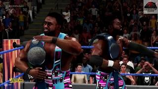 WWE 2K19 - Bludgeon Brothers vs New Day - Smackdown Tag Team Championship Match Fastlane PPV !!!!!