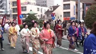 第61回静岡まつり(2017年4月1日) 大名行列.