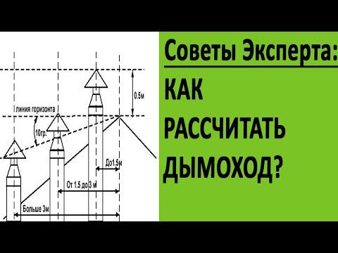 Как рассчитать высоту дымохода?丨Советы от ЭКСПЕРТА丨