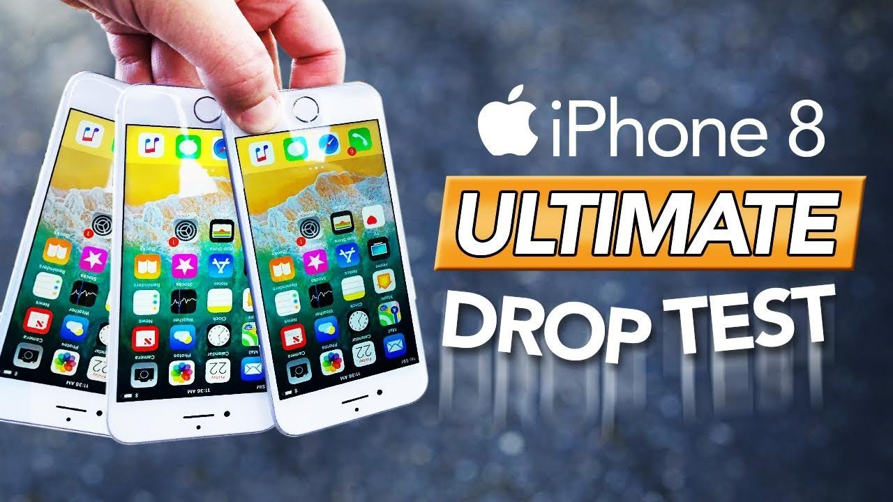 iphone drop test iphone 8 ultimate durability drop test 11808