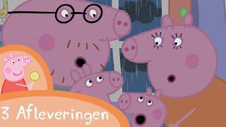 Peppa Pig Nederlands Compilatie Nieuwe Afleveringen   Onweer   Tekenfilm   Peppa de Big