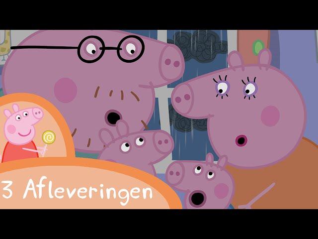 Peppa Pig Nederlands Compilatie Nieuwe Afleveringen | Onweer | Tekenfilm | Peppa de Big