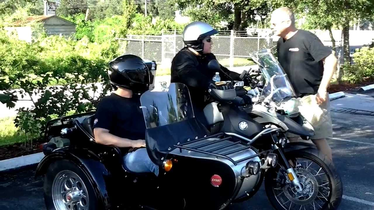2011 Bmw 1200gsa With Sidecar Youtube
