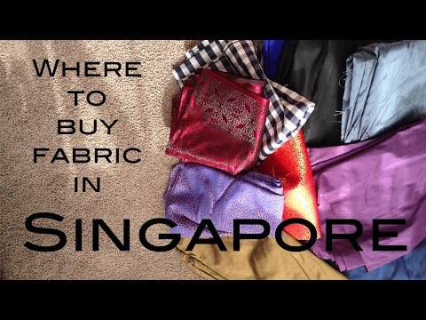 Where to buy Fabric in Singapore