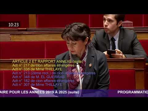 1er amendement LPM