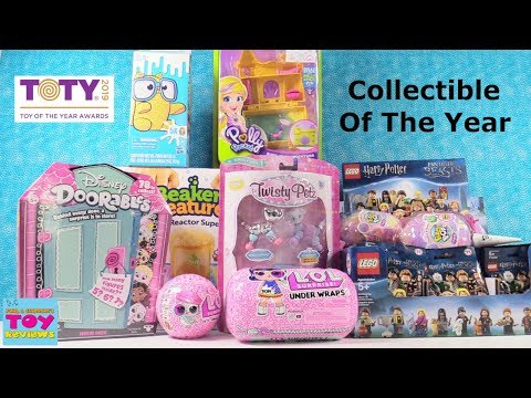 TOTY 2019 Collectible Of The Year Nominees Vote Now Blind Bag Toy Unboxing | PSToyReviews