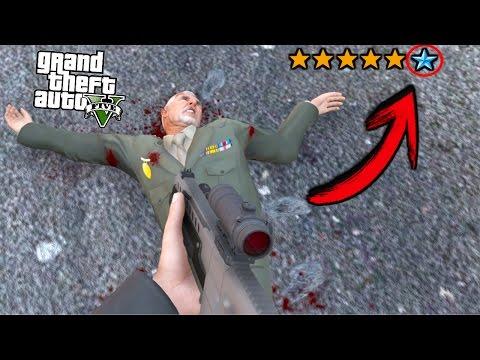 ¿Qué pasa si consigues 6 estrellas en GTA 5? - Grand Theft Auto V