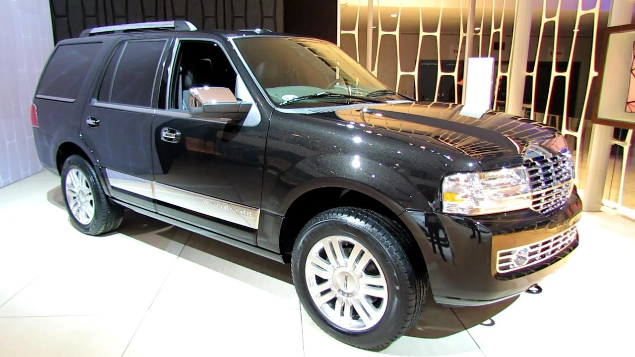 2014 lincoln navigator exterior and interior walkaround 2014 detroit auto show youtube
