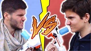 PETIT FRERE vs GRAND FRERE CHALLENGE ! BATAILLE DE NERF WAR !