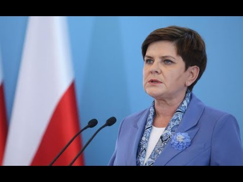 Poland's PM powerful response to the EU elites on blackmail over migrants HD; 24-05-2017 * Eng. subs