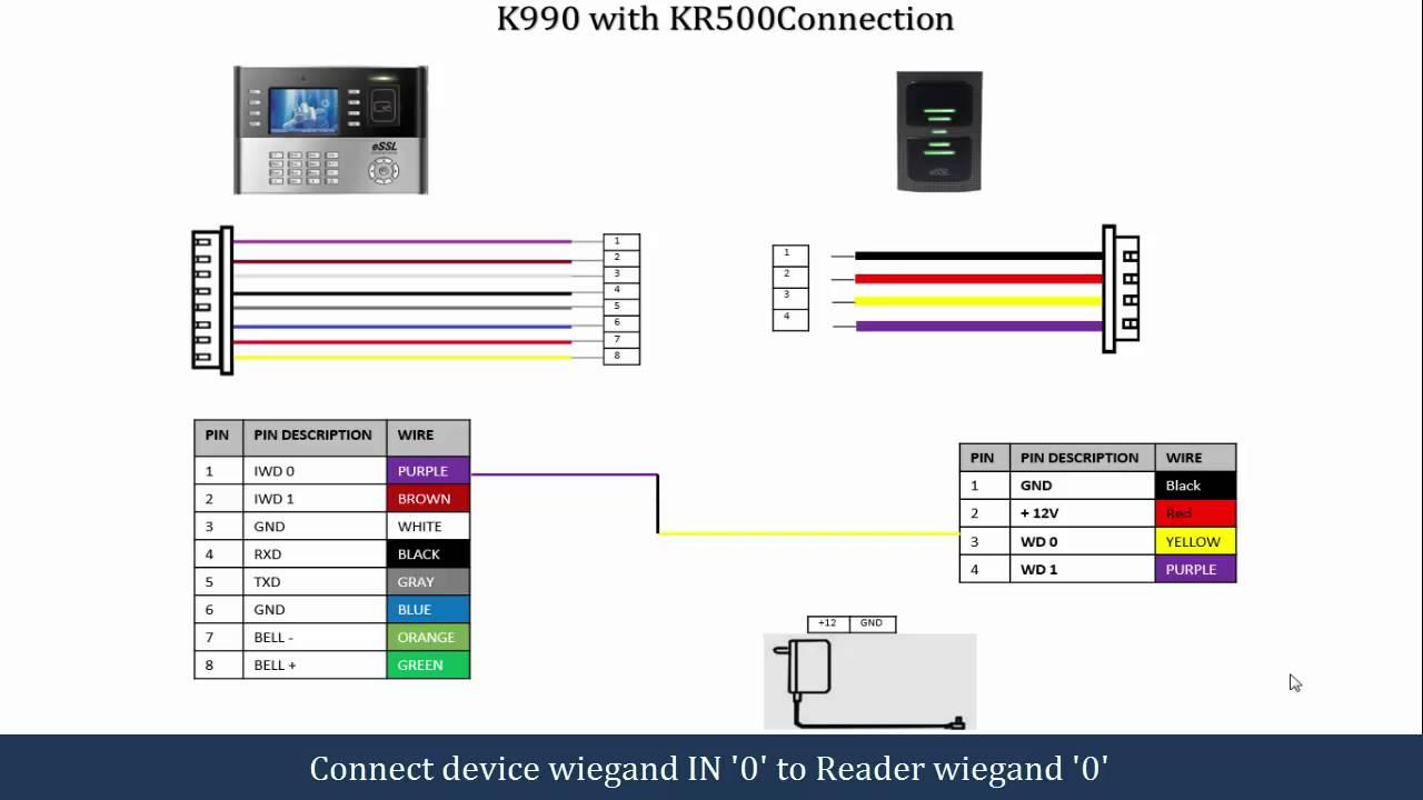 access control wiring schematic