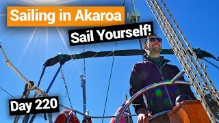 Video blog - Sailing Cruise in Akaroa: Sail Yourself! - Day 220