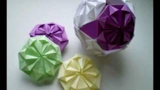 Origami - Kusudama