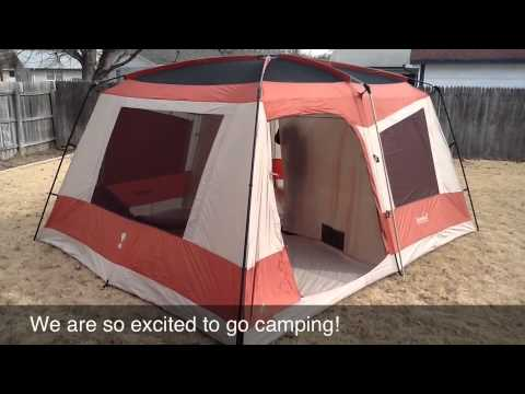 Eureka Copper Canyon Tent Youtube
