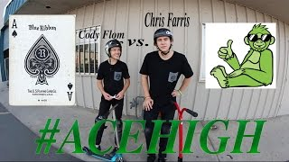 acehigh game of scoot w cody flom vs chris farris