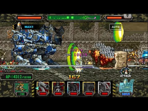 [HD]Metal slug ATTACK. ONLINE!  SLUG GIGANT MK 2  Deck!!! (2.7.0 ver)