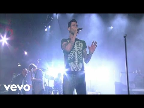 Maroon 5 - Sunday Morning (Live on Letterman)
