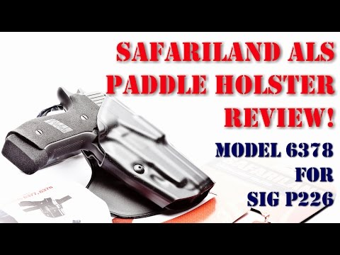 Essential Buyer's Guide to the Best Sig P226 Holster [2019]