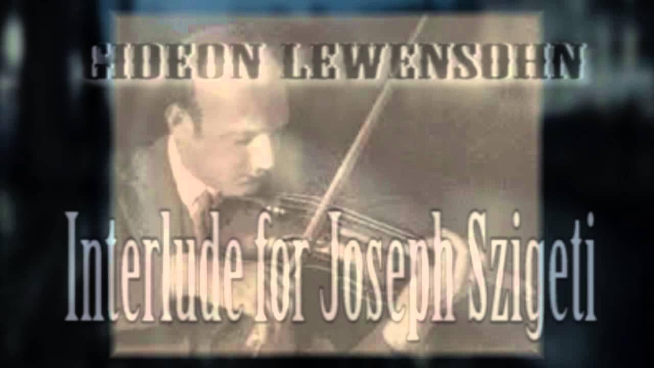 GIDEON LEWENSOHN -