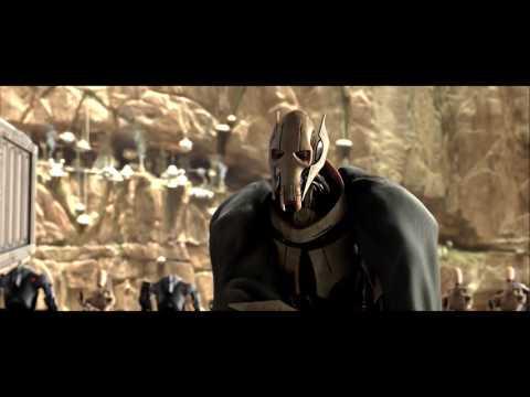 스타워즈(Star Wars) - 그리버스 VS 오비완 케노비 라이트세이버 대결 장면
