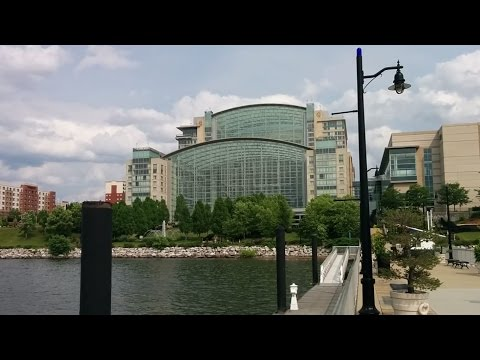 Visiting the Gaylord National Resort and Convention Center in National Harbor, Maryland