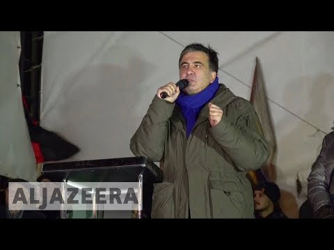 Mikheil Saakashvili re-arrested in Ukraine