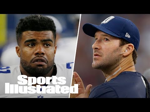 Former Cowboys QB Tony Romo Shows His Support For Ezekiel Elliott | SI Wire | Sports Illustrated
