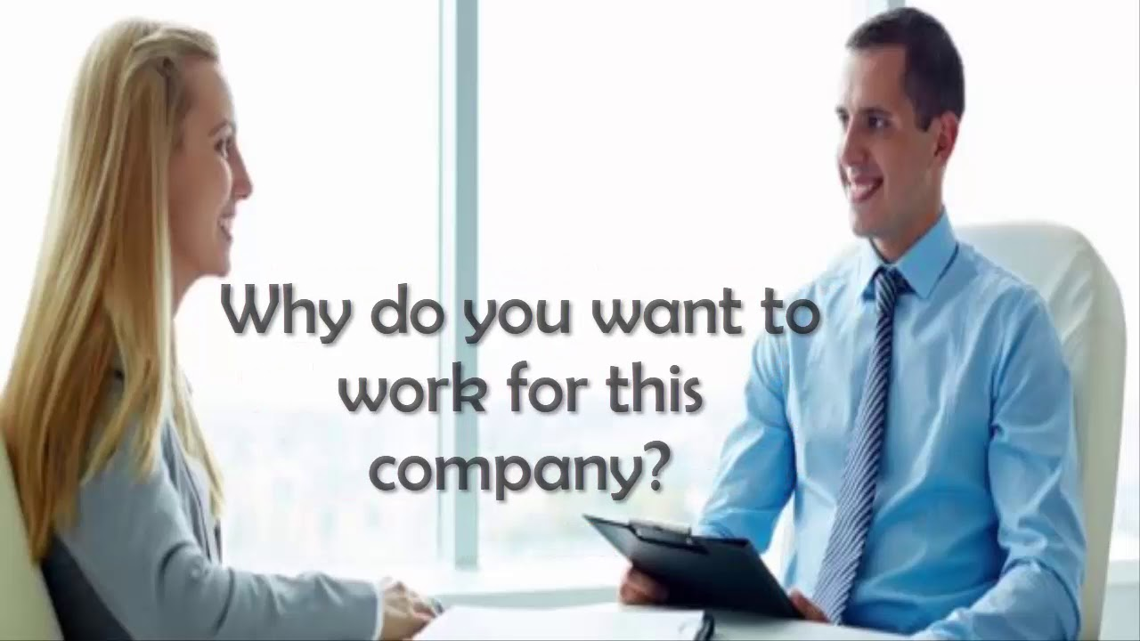 English Conversation - Job Interview - YouTube
