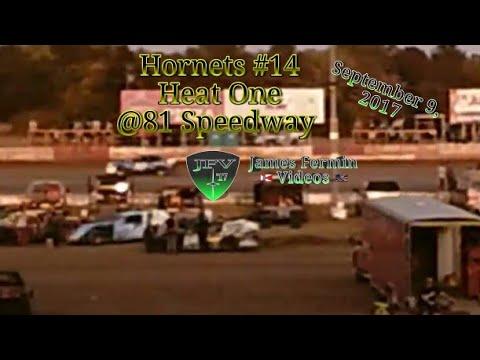 Hornets #17, Two Car Shootout Heat, 81 Speedway, 2017