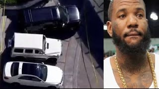 The Game`s Car Gets Blasted After He Disses Meek Mill For Being A Snitch