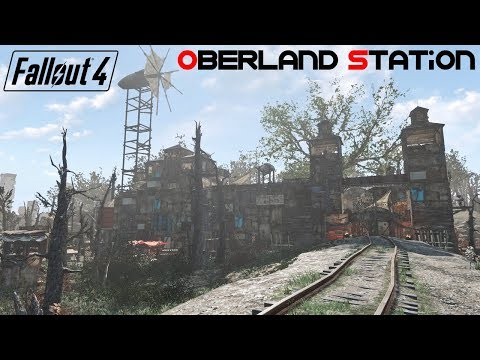 Fallout 4 | Realistic Merc Outpost at Oberland Station