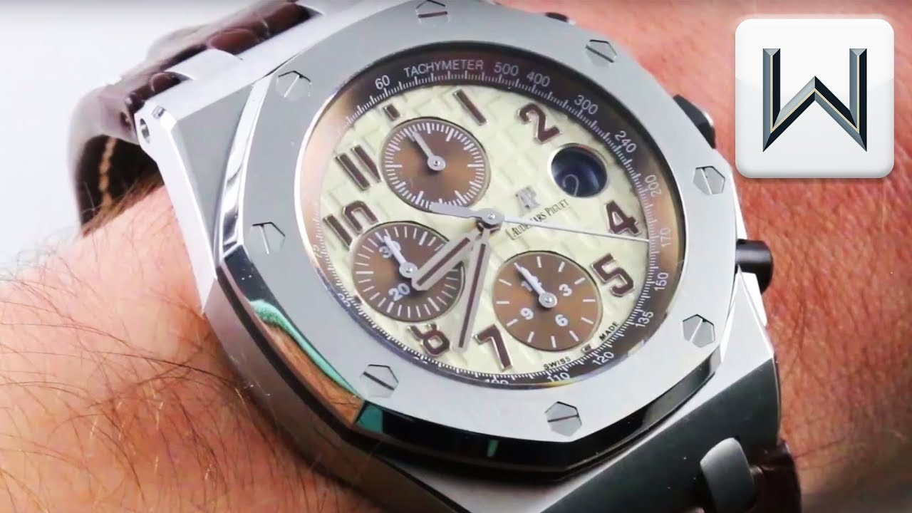 Audemars Piguet Royal Oak Offshore Safari Chronograph 26470st Oo A801c Luxury Watch Review