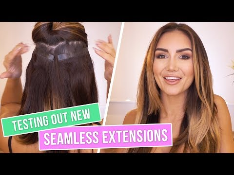 WHAT ARE SEAMLESS HAIR EXTENSIONS? A HOW-TO GUIDE
