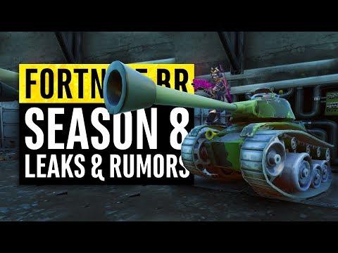 Fortnite | Season 8 Leaks and Insane Theories