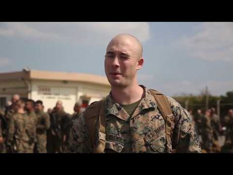 3d Battalion, 8th Marine Regiment Arrive on Okinawa for UDP