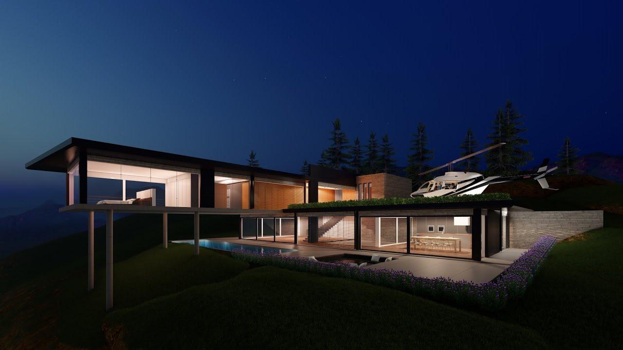 modern lumion minimalist eco 3d warehouse rendering