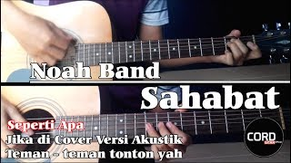 Noah Band - Sahabat (Acoustic Guitar Cover)