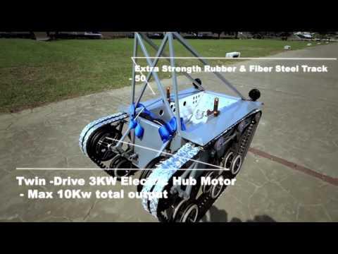 Electric Tracked Vehicle ATV