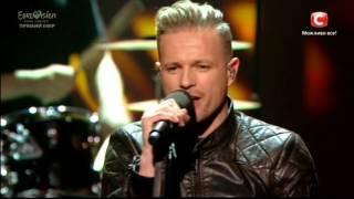 Nicky Byrne - Sunlight (Ireland) Eurovision 2016 LIVE #Ukraine
