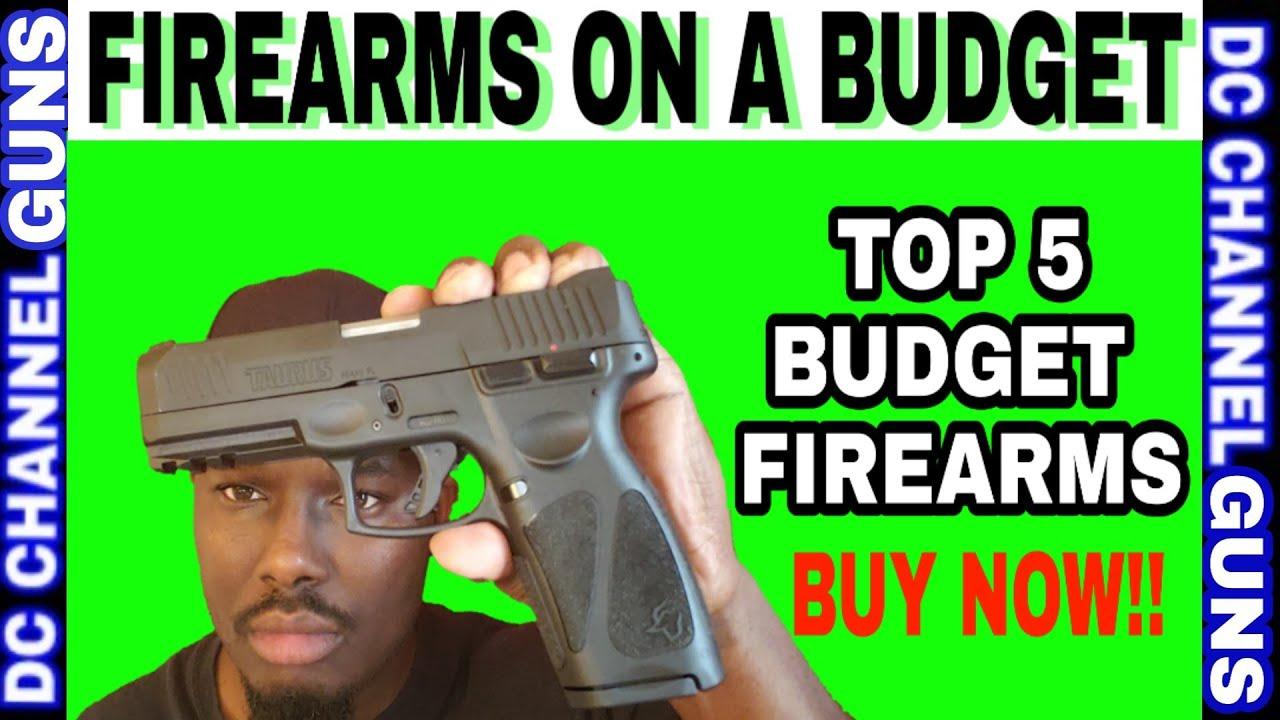 TOP 5 BEST #BUDGET HANDGUN UNDER $299 | GUNS