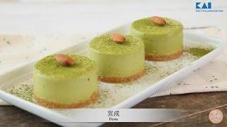 日本貝印KAI x Chi Chi - 綠茶慕絲蛋糕 Green Tea Mousse Cake